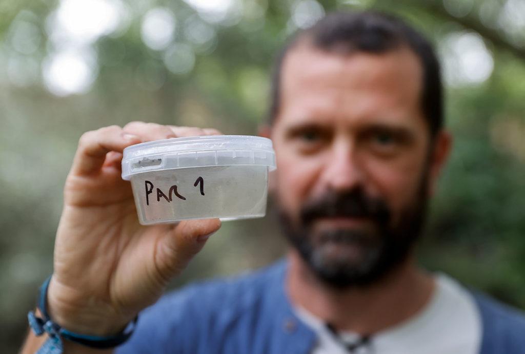 Microplásticos en ríos
