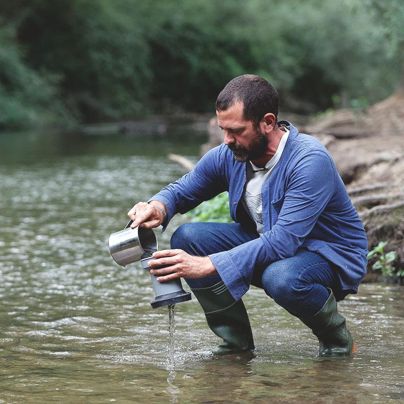 Muestreo en ríos Hyt