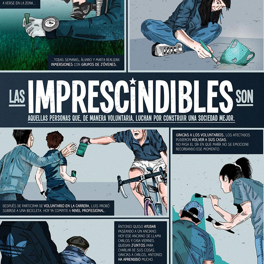 Cartel Los Imprescindibles