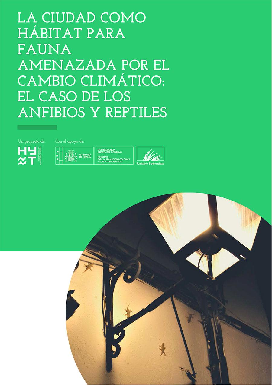 La ciudad como hábitat para anfibios y reptiles